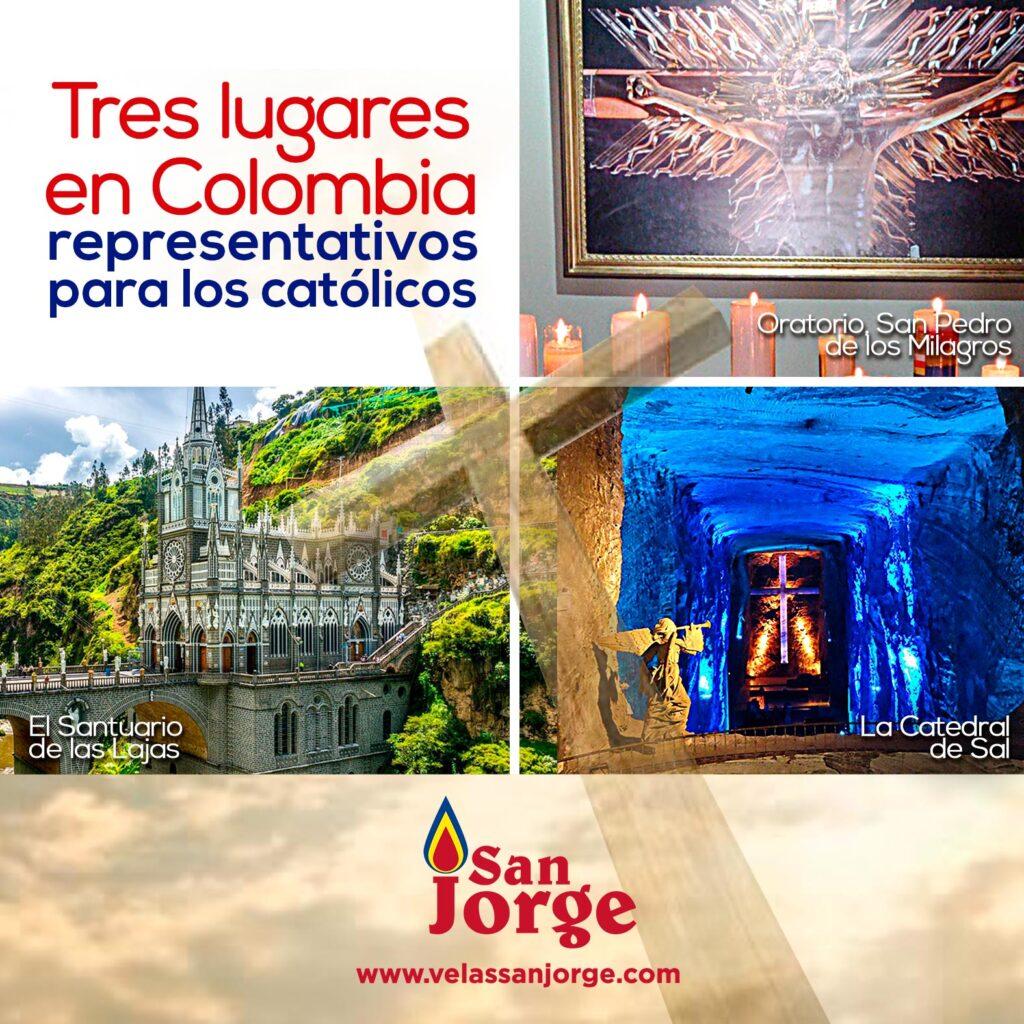 Tres lugares en Colombia representativos para los católicos