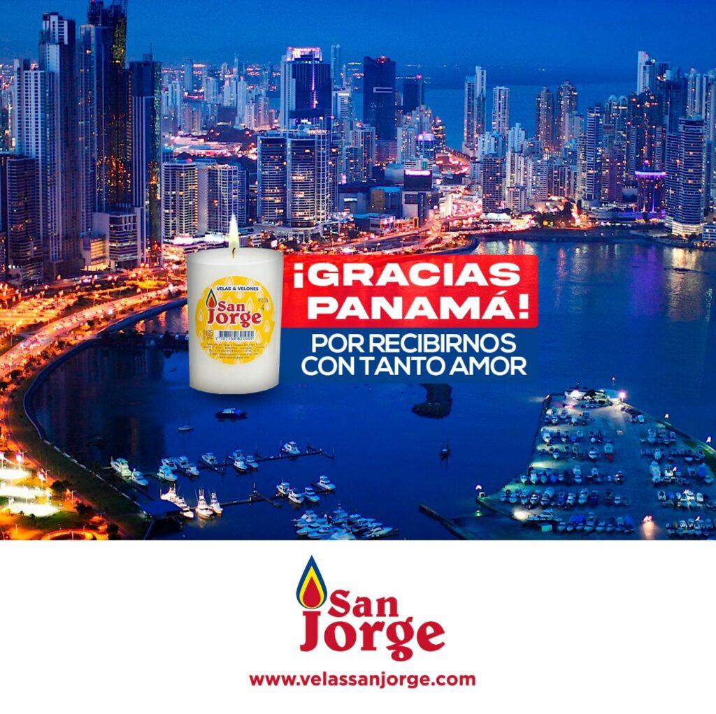 Gracias Panamá por recibirnos con tanto amor